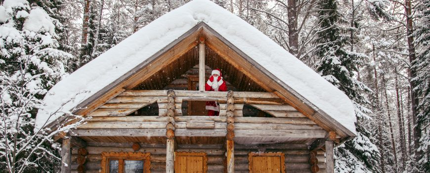 Home of Santa Claus at the North Pole.